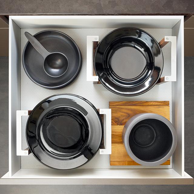 drawers system walnut_4_Schubladensystem Nussbaum